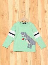 リンゴザウルス長袖Tシャツ