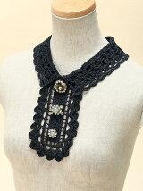 crochet bijou collar