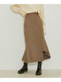 vis-`a-vis 【vis-`a-vis】アシンメトリーマーメイドスカート ビス スカート スカートその他 カーキ ブラック ベージュ