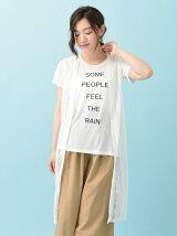 RAY CASSIN RAY SET2点 レースジレ×Tシャツ
