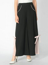 Ribbon Wide Pants