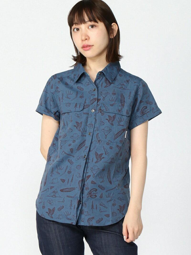 Columbia (W)ピルスナーピークショートスリーブシャツ コロンビア シャツ/ブラウス【送料無料】