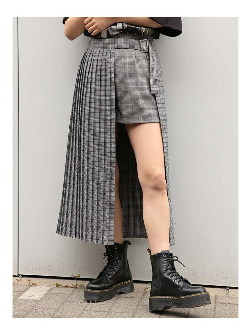 jouetie ダブルチェックラップスカート2 ジュエティ スカート【送料無料】