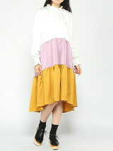 sister jane / Color Block Mid Dress ray beams レイビームス シスタージェーン