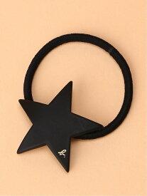 agnes b. VOYAGE VOYAGE/(W)JA06A-01 ヘアゴム アニエスベー 帽子/ヘア小物 ヘアゴム ブラック ホワイト レッド