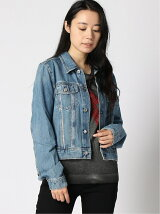 (W)DENIM TRUCKER JACKET