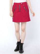 【WEGO】【JUNIOR SWEET】(L)ライダースタイトスカパン2