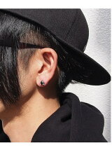 LH BASIC basis-01EA0031OX-BLACK AFRICAN-ISM/juju/ピアス