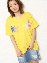 フラッグ スター Tシャツ