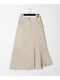GRACE CONTINENTAL イレギュラーコーデュロイスカート グレースコンチネンタル スカート【送料無料】