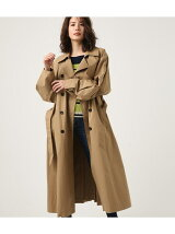 VOLUME SLEEVE LONG TRENCH COAT