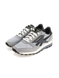 【SALE/50%OFF】Reebok Classic クラシック レザー AZ / Classic Leather AZ Shoes リーボック シューズ スニーカー/スリッポン グレー ベージュ【送料無料】