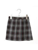 タータンチェックプリーツスカート スーツ セットアップ