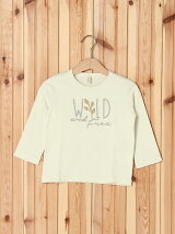 (K)草木染め刺繍ボーイTシャツ・カットソーUT1
