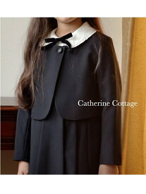 【SALE/29%OFF】Catherine Cottage (K)長袖ブラウス付濃紺アンサンブル キャサリンコテージ ワンピース【RBA_S】【RBA_E】【送料無料】