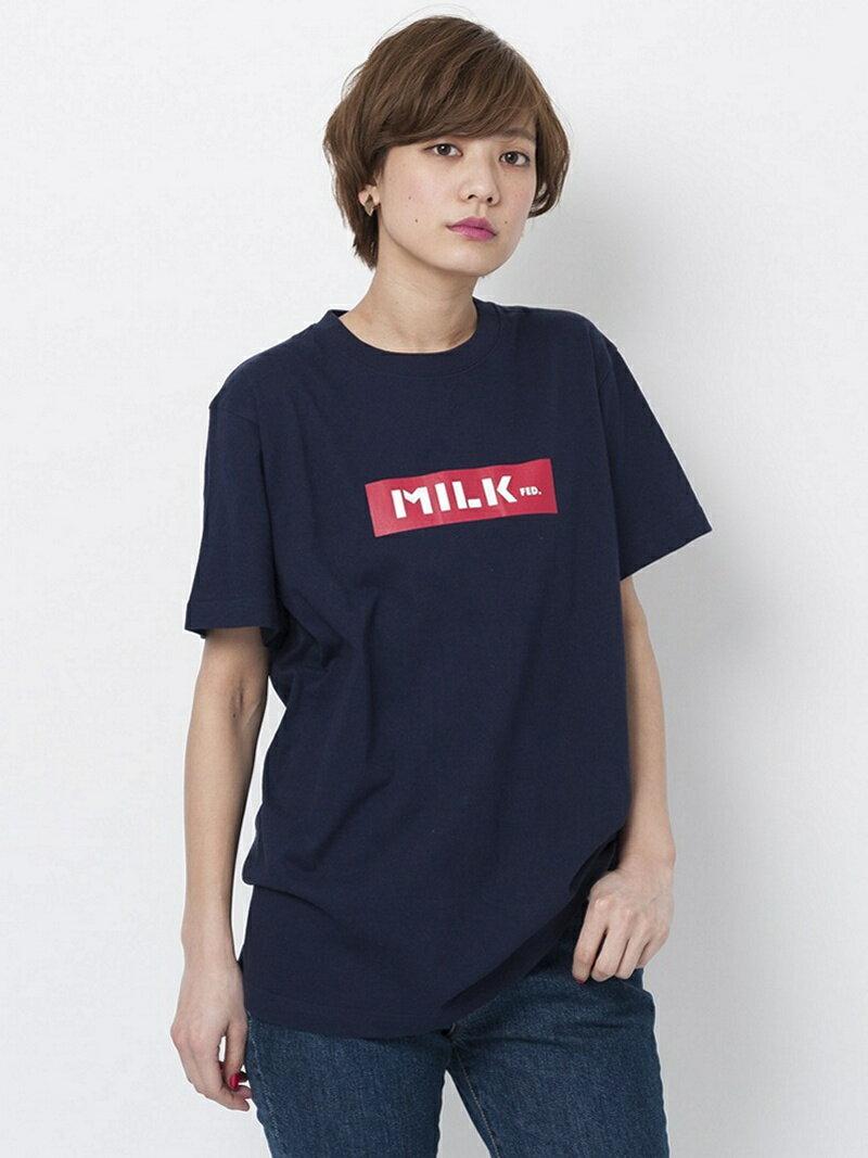 MILKFED. S/S TEE BAR【Tシャツ】 ミルクフェド カットソー【送料無料】