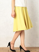 CR FlareSkirt B/F.Rubber スカート