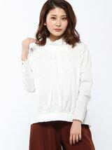 RAWFUDGE/スタンドカラーブロードシャツ