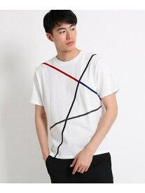 【SALE/40%OFF】THE SHOP TK ラインTシャツ ザ ショップ ティーケー カットソー Tシャツ ホワイト ブラック ベージュ ピンク