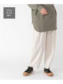 """【SALE/37%OFF】studio CLIP 【イージーケア】""""リラックスラウチ""""パンツ[プラスサイズあり] スタディオクリップ パンツ/ジーンズ フルレングス ホワイト カーキ ベージュ パープル"""