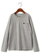 WEB限定【ジュニア】LEE(リー) クルーネック ポケット Tシャツ