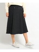 ハイウエストフレアAラインスカート