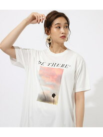 【SALE/50%OFF】AZUL by moussy wishmePHOTOTEE アズールバイマウジー カットソー カットソーその他 ホワイト ネイビー