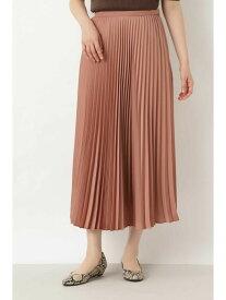 【SALE/50%OFF】NATURAL BEAUTY BASIC [洗える]アコーディオンプリーツスカート ナチュラルビューティベーシック スカート スカートその他 ブラウン【送料無料】