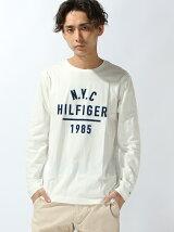 (M)ロゴプリントロングTシャツ 父の日 ギフト