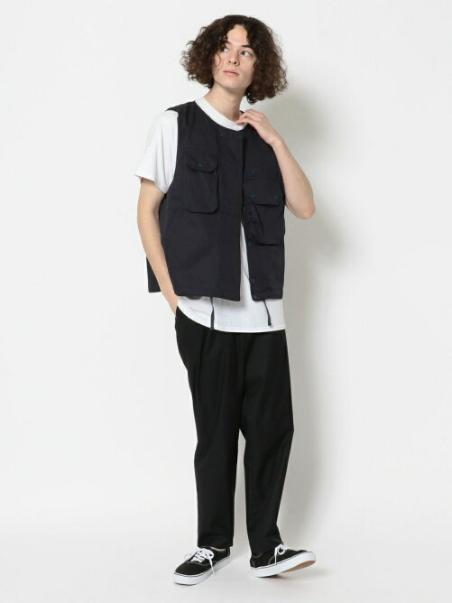 Cover Vest  high count twill/ Engineered Garments/エンジニアド ガーメンツ