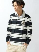 (M)ストライプラガーシャツ