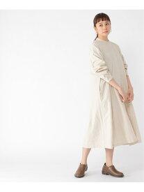 【SALE/28%OFF】studio CLIP 羽織れるシャツワンピース スタディオクリップ ワンピース シャツワンピース ホワイト グレー ブラウン【送料無料】