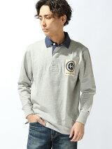 (M)ソリッドラガーシャツ