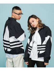 adidas Originals (M)BIG TREFOIL TRACK TOP アディダス コート/ジャケット ナイロンジャケット ブラック ブルー レッド【送料無料】