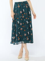 ENNEA/レトロフラワースカート