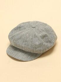 【SALE/37%OFF】WEGO 0/(L)リネンタッチボリュームキャスケット ウィゴー 帽子/ヘア小物 キャップ グレー ホワイト ブラック