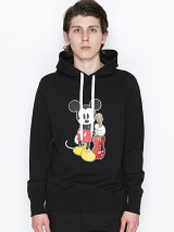 HOODED PARAK_NUMBER (N)INE MICKEY MOUSE_KR
