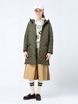 Barbour × BEAMS BOY / 20th別注 Liddesdale Long Hoody バブアー BEAMS BOY ビームス ボーイ