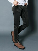 NO.55 SUPER SKINNY STRETCH CORDULOY PANTS