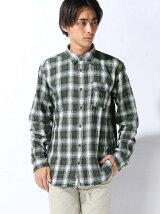 (M)フランネルチェックシャツ