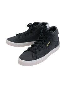 【SALE/76%OFF】adidas Originals (W)adidas SLEEK MID W アディダス シューズ スニーカー/スリッポン ブラック ホワイト