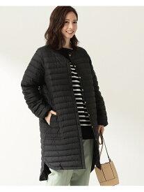 Demi-Luxe BEAMS Traditional Weatherwear / ARKLEY ロング インナーダウン デミルクス ビームス コート/ジャケット ダウンジャケット ブラック ベージュ【送料無料】