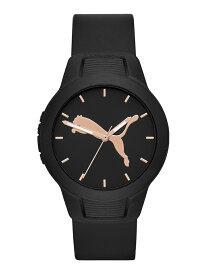 PUMA PUMA/(W)RESET V2_P1006 ウォッチステーションインターナショナル ファッショングッズ 腕時計 ブラック【送料無料】