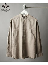 House Hold SHIRTS C/Li Band/Cシャツ