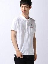 (M)ラインポケットポロシャツ