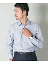URBAN RESEARCH Tailor ラウンドカラーファンシーストライプ