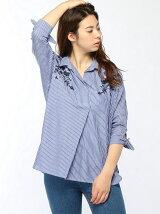 サキゾメ刺繍シャツ