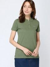 (W)コットン100%ピケ ポロシャツ (半袖)