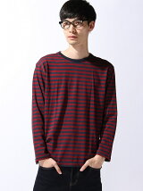 【BROWNY STANDARD】(M)ThermoStorageボーダーT