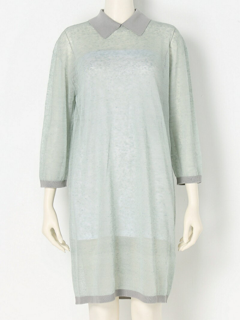 【SALE/45%OFF】iliann loeb Collared dress イリアンローヴ ワンピース【RBA_S】【RBA_E】【送料無料】